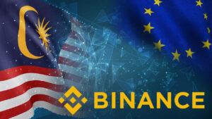Binance Banned in Malaysia, Parts of EU; Source: Bitcoinsensus